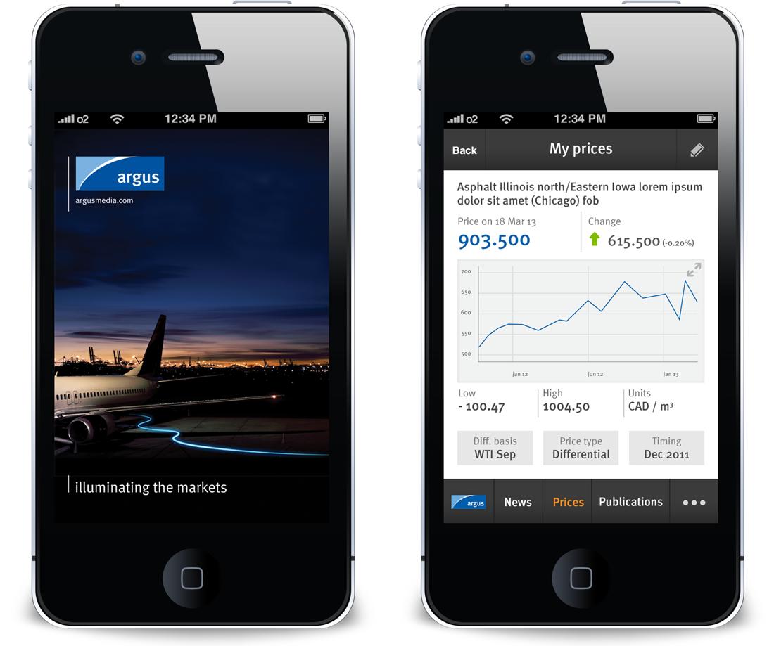 apps for Argus Media,